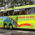 Bus Baru Gunung Harta Premium Class Scania K410 iB Triple Axle